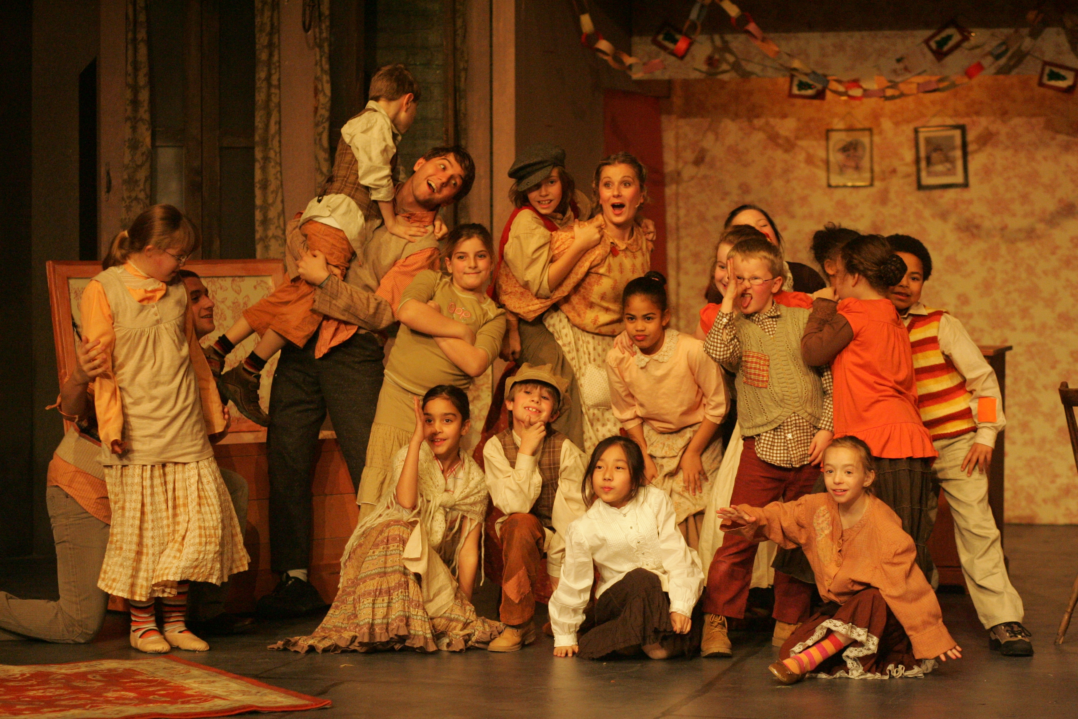 Happy Family: The Cratchit family in A Christmas Carol, 2007