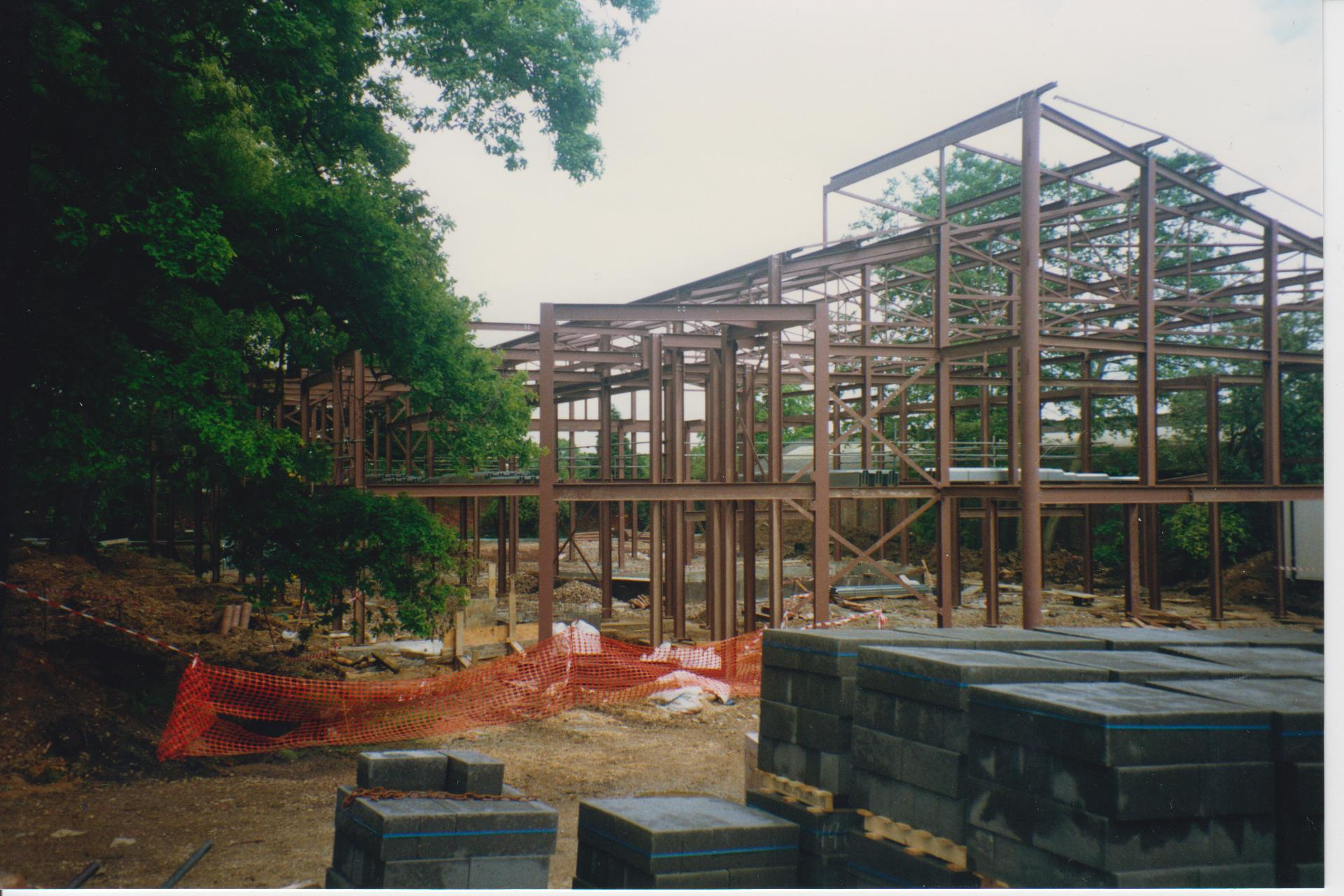 1993/4: The Rayne theatre in its infancy