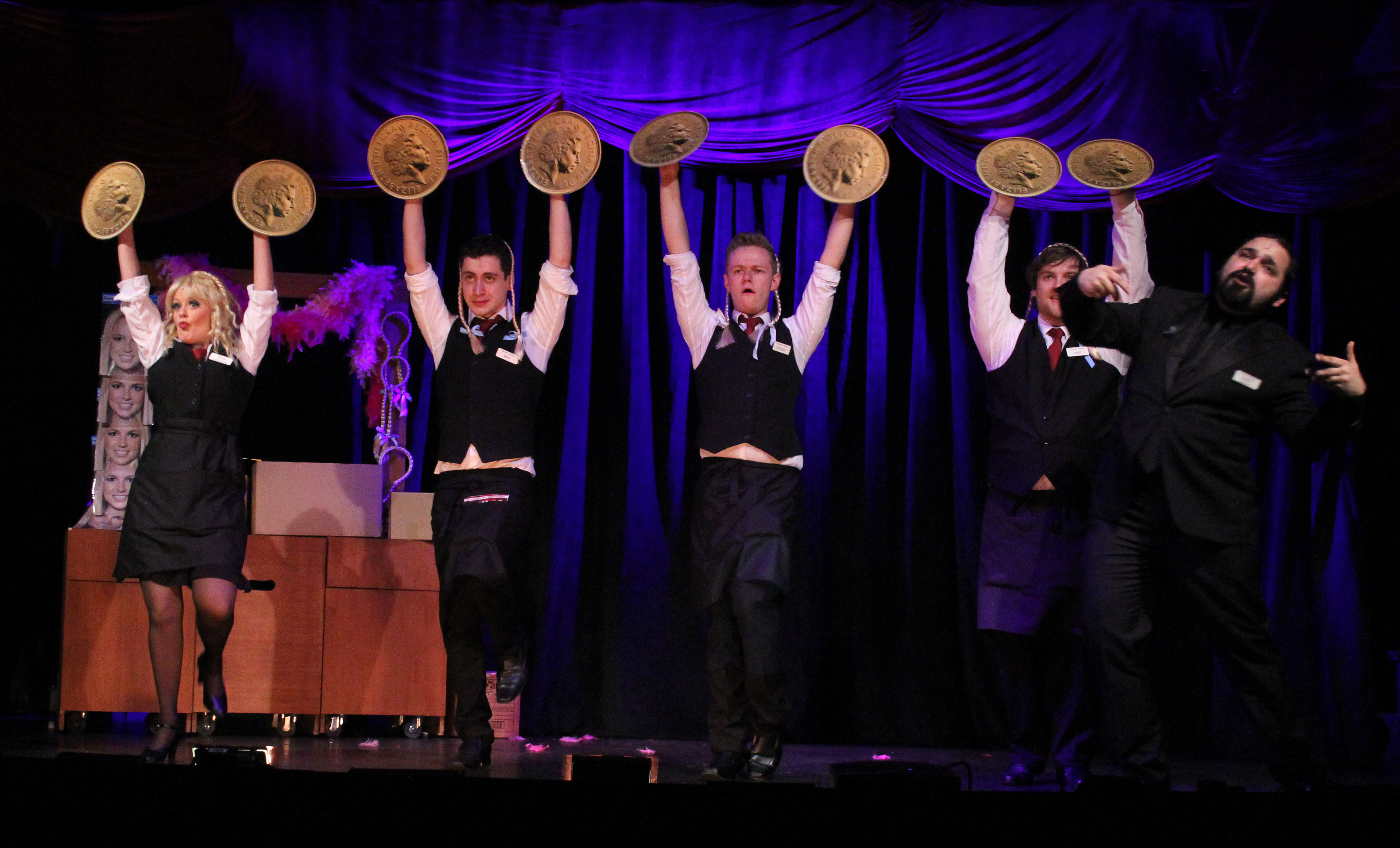 musical review The broadway-bound production at the beautifully restored emerson colonial  theatre is jaw-droppingly kitschy, hilarious, and vapid at the.