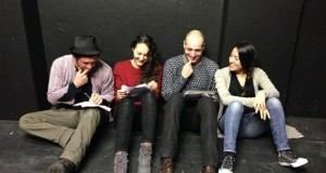 The inaugural Scripts Spotlight Live Readings at the White Bear Theatre.