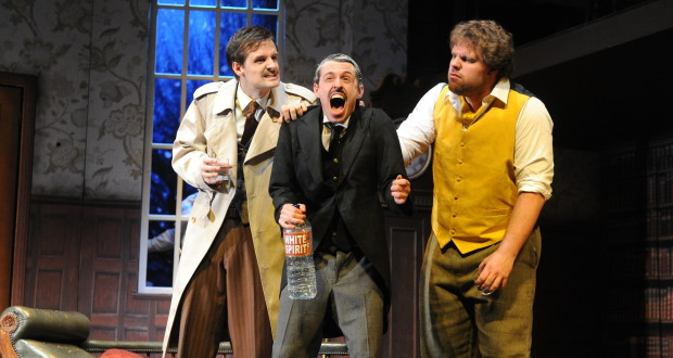 The Play That Goes Wrong is transferring to the West End's Duchess Theatre