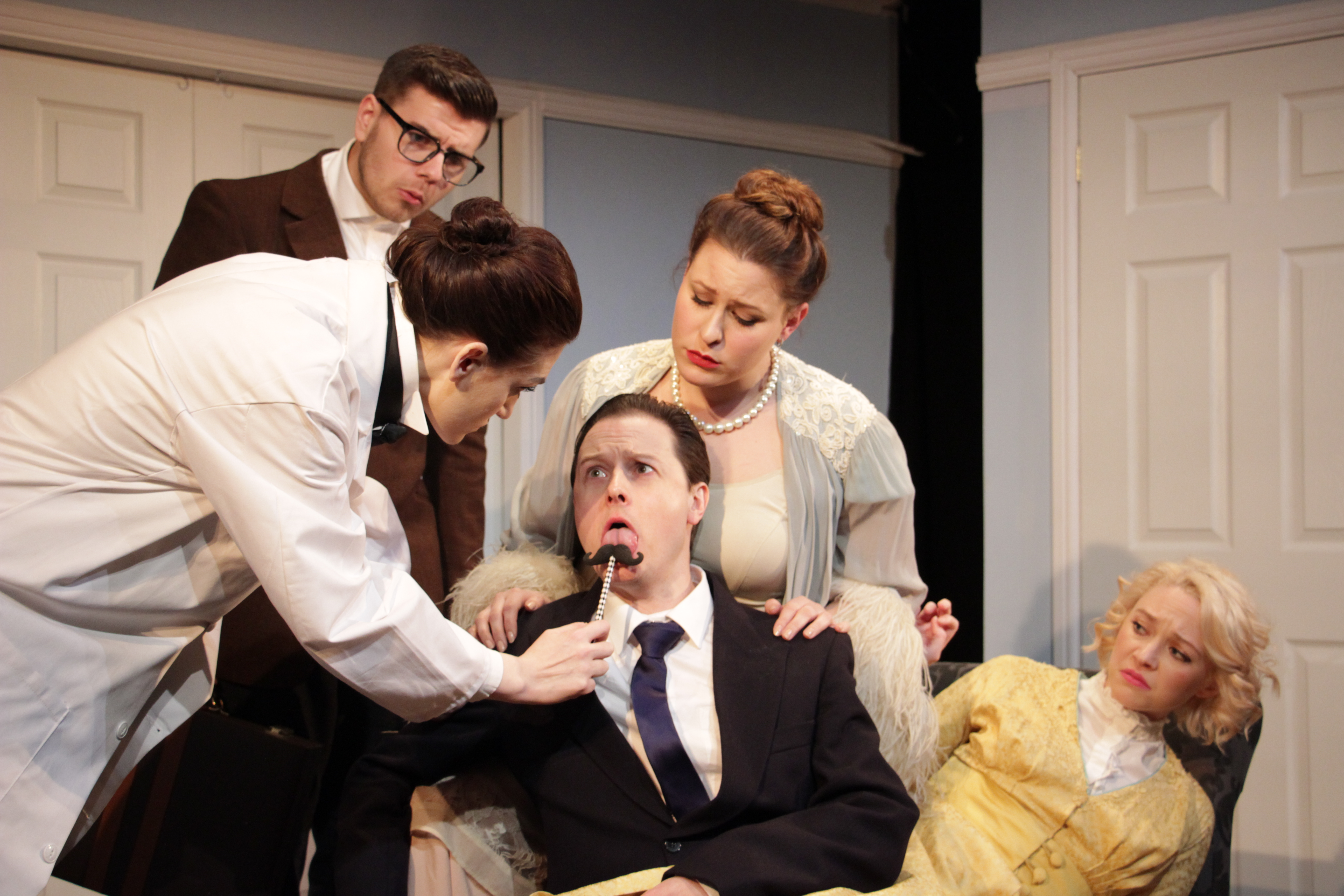 a review of the play a flea in her ear by georges feydeau A flea in her ear: a new version of georges feydeau's a flea in her ear is probably georges feydeau's most well-known work the play is a farce that examines.
