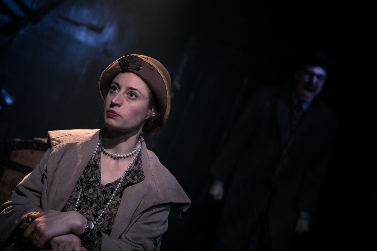 a review of jb priestlys play an inspector calls 50 word review: jb priestley's an inspector calls this is a short play filled with cultural and historical references scattered with vague attempts at humour be prepared the idea of the play (people being linked to a particular event without previously realising) seems very reminiscent of agatha christie and so definitely one to.