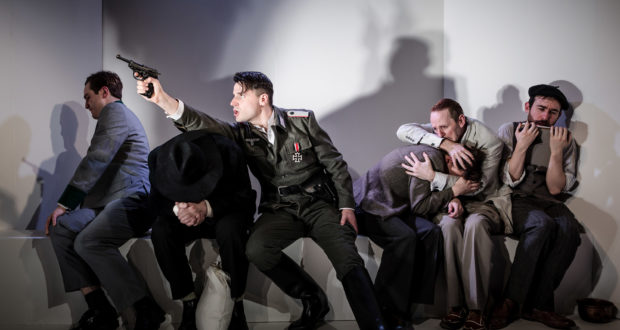 Arthur Miller's 'Incident at Vichy' at the King's Head Theatre, directed by Phil Willmott (Photo by Scott Rylander)