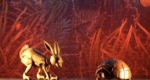 The Hare & the Tortoise & other stories - Review - The Puppet Theatre Barge