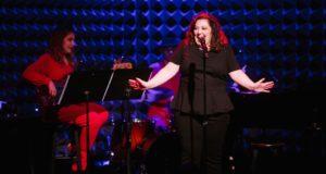 Cabaret performer Tori Scott