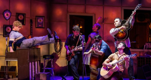 'Million Dollar Quartet' at Queen's Theatre Hornchurch Peter Duncan