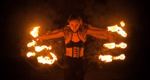 Chivaree Circus 'Becoming Shades' Vault Festival