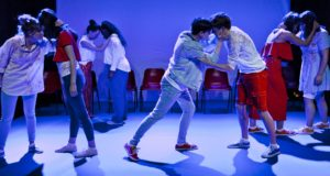 Propeller - The Network At The Pleasance (courtesy of Robin Mitchell)