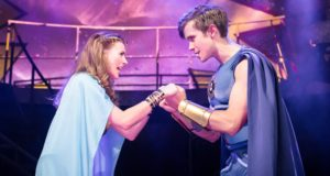 Eugenius 4 Laura Baldwin as Janey and Rob Houchen as Eugene Photo Scott Rylander