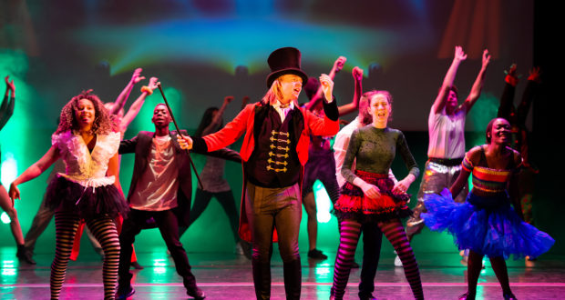 Anna Fiorentini Theatre & Film School's 2018 variety showcase at the Hackney Empire (Photo © AC&C Photography)