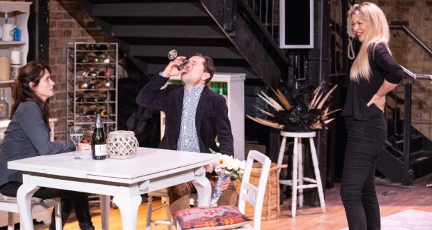 People Like Us, Union Theatre (Courtesy of Paul Nicholas Dyke) (8) Sarah Toogood, Paul Giddings, Gemma-Germaine
