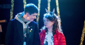 Cuckoo, Soho Theatre (Courtesy of David Gill) (4) Elise Heaven and Caitriona Ennis