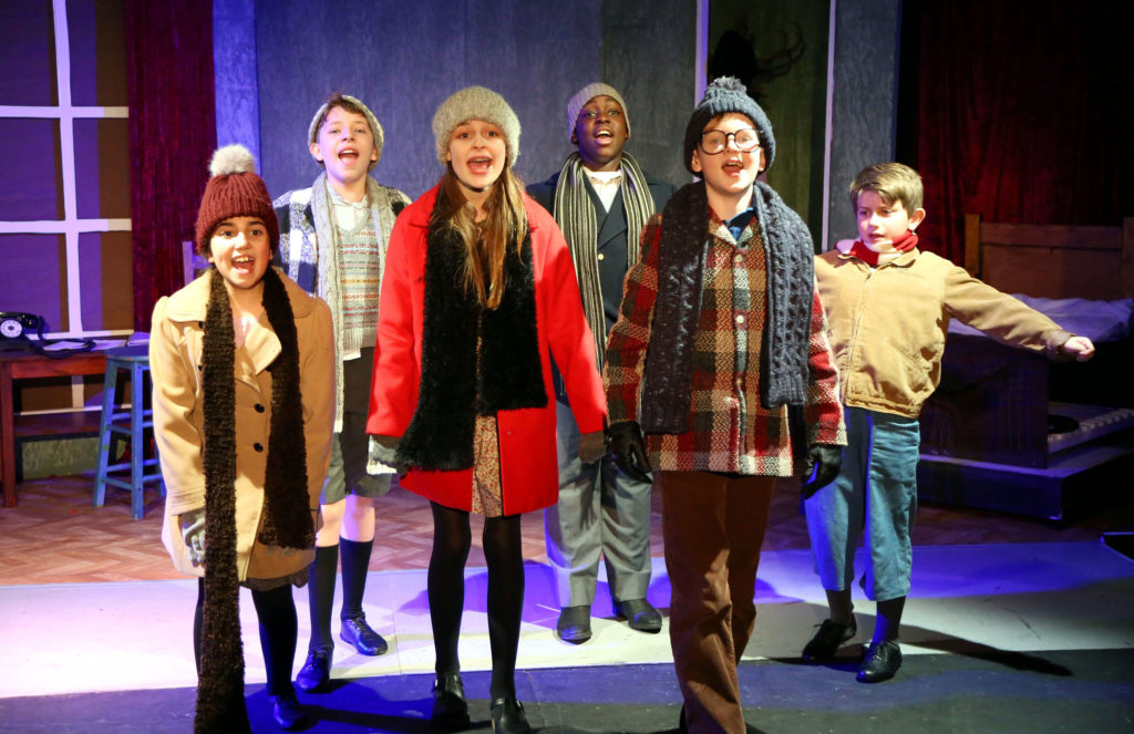 A Christmas Story Musical.A Christmas Story The Musical Waterloo East Theatre