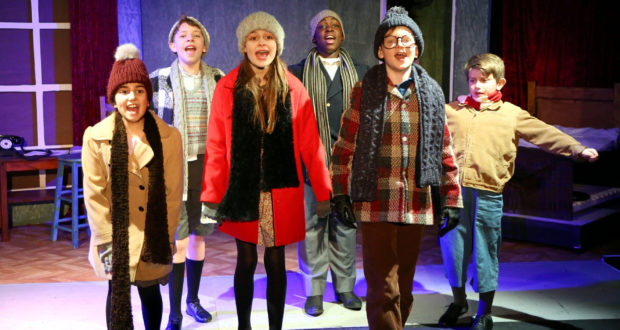 A CHRISTMAS STORY, THE MUSICAL book by Joseph Robinette and music and lyrics by Benj Pasek and Justin Paul @ The Waterloo East Theatre, London  Directed by Gerald Armin  28th November - 22nd December 2018, info: www.waterlooeast.co.uk  picture by Robert Piwko / www.robertpiwko.co.uk   www.facebook.com/RobertPiwkoPhotography  www.twitter.com/robertpiwko  www.youtube.com/robertpiwko