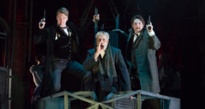 Blackeyed Theatre's 'Sherlock Holmes: The Sign of Four' (Photo by Mark Holliday)
