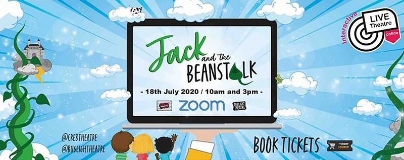 Jack and the Beanstalk – Live in Your Living Room, Online – Review