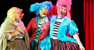Three dames from Potted Panto