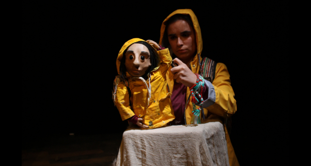 Review image for Dust online from Half Moon Theatre