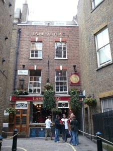 The Lamb and Flag Pub used be called the Bucket of Blood. Photo: Jess Gardner