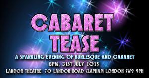 cabaret tease event pic