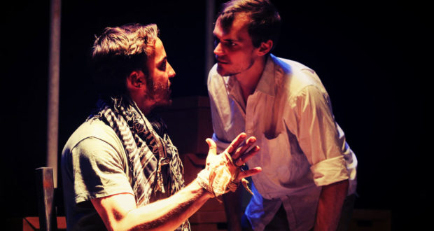Dan Nicholson and Christopher Birks in The Man Who Would Be King