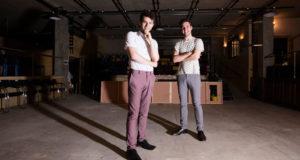 Joel Fisher and Joshua McTaggart (Photo courtesy Chris Gorman)