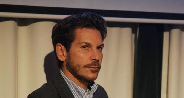 Marco Filiberti at the Italian Cultural Institute London