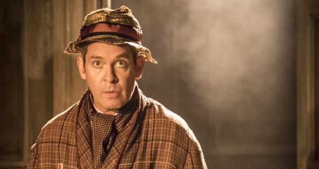 Tom Hollander in Tom Stoppard's Travesties on the West End