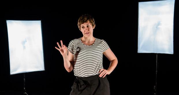 Charlotte Josephine in Snuff Box Theatre's 'BLUSH' (Photo Credit: The Other Richard)