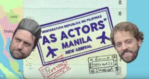 As Actors: Manila web series with Hugo Chiarella and Tamyln Henderson