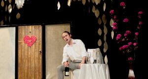 Aidan Coburn performs in 'Night in Vienna' at the launch event for Opera in the City Festival at Bridewell Theatre