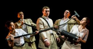 Production shot for Our Man in Havana by Spies Like Us Theatre Company