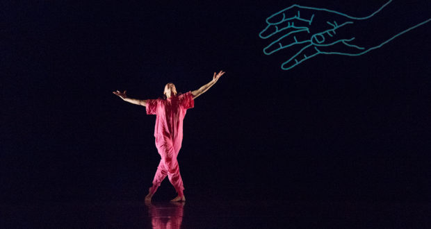 Amy Bell's 'The Forecast' at the Place (Photo by Pari Naderi)
