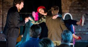 Pop-Up Opera performs Mozart's 'Der Schauspieldirektor' (Photo by Robert Workman)