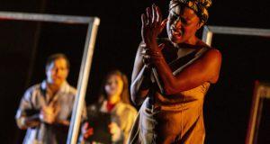 Alexandra Afryea in Proteus Theatre's 'Macbeth' (Photo by Pamela Raith Photography)