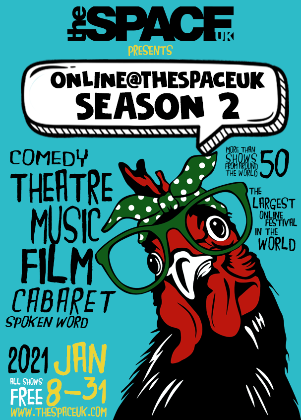 Online@theSpaceUK Season 2 Programme Cover