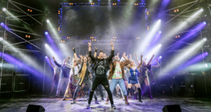 review image for rock of ages at New Wimbledon Theatre