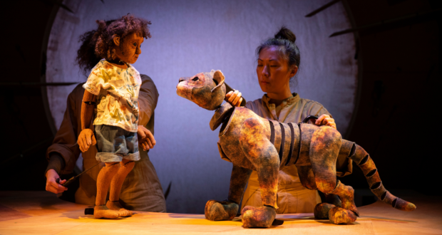 review image for There's a Rang-Tan in my Bedroom & Other Stories at Little Angel Theatre